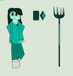 Dioptase gem fusion by ItsFionna