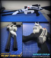 M 92 Mantis Mass Effect Sniper Rifle by AWorger