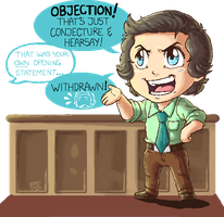 OC: Prosecution in Pixels by GI-Ace