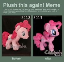 Plush this again Pinkie Pie by Chibi-pets