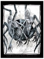 Bookillustration: spider women by Hollow-Moon-Art