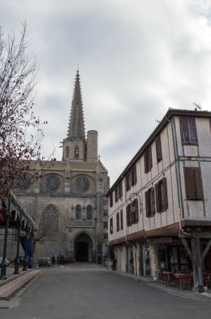 French Medieval Village-8 by RowyeStock