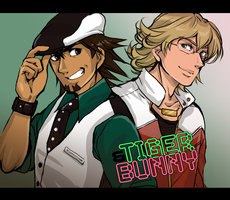 TIGER AND BUNNY by DDhew