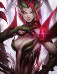 League of Legends: Zyra by ae-rie