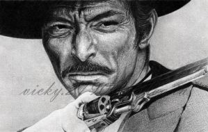 Lee Van Cleef by GreyVic