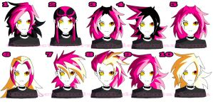DeadEnd Hair Style by Chibi-Warmonger