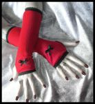 Little Reds Lost Arm Warmers by ZenAndCoffee