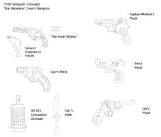 XVIII Concepts- Crew Weapons by R-Zion