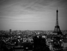 The Cityscape of Paris by Captured-Being