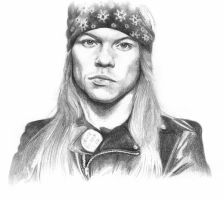 Axl Rose by nataliofman