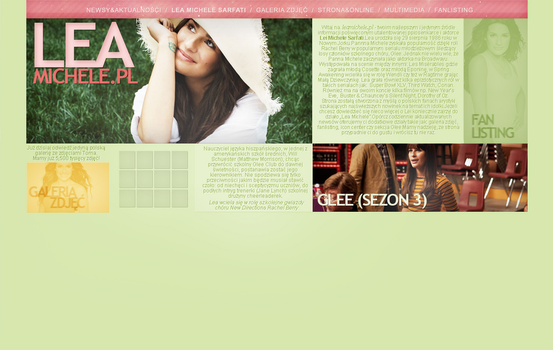 Lea Michele Spring by Imfearless