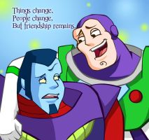 Buzz and Warp by Chibininja1917