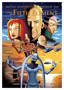 The Fifth Element by inkjava