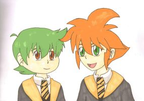 MFB-HP Crossover: Hufflepuff by MajesticIllusion