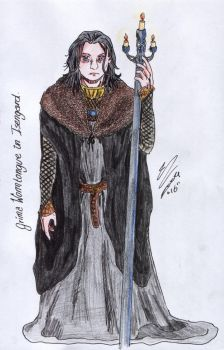 Grima in Isengard by grimasgal