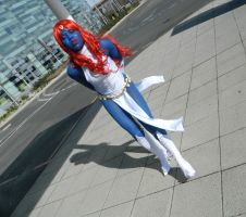 Mystique Cosplay 1 by OsatoCosplay