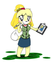 AC - Isabelle by BlindSnipeFreeLancer
