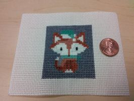 Xmas 2014 Ornament #2: Foxy Loxy by bobcrochets