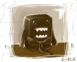 Portrait of a Domo-kun by sammich