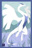 Lugia by Clairictures
