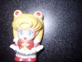 Sailor Moon Finger Puppet by KittyChanBB