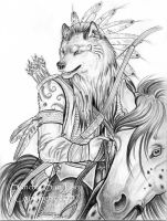 Wolf Warrior by ssantara