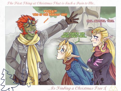''The Twelve Pains of Christmas'' -- 1st Pain by Cup-of-Javo
