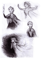 Elsa Sketches by Midnight-63