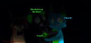 5 nights at freddy's with freinds! by X-DaveTheCat-X