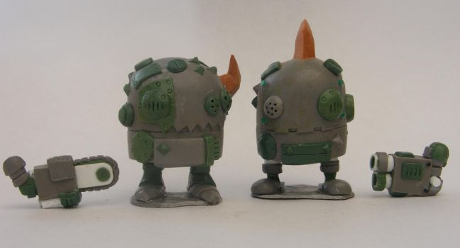 Black Tribe Bully Sculpts by SpaceCowSmith