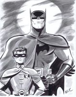 Philly Con 2011 BatMan + Robin by DaveBullock
