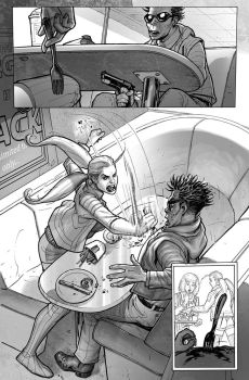 Harley Quinn Issue 4 page 12 by StephaneRoux