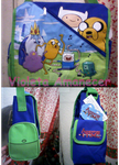 Mochila Adventure Time by violeta95chan