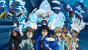 Monsuno Fanart :3 by Tailwalker