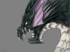 Puzzle and Dragons: Vritra by MagicallyCapricious