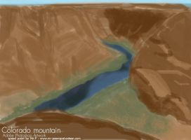 Colorado Mountian by Peerapat-Sema