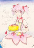 GIFT - Birthday Madoka by aaamaaa