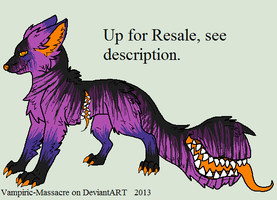 MagmaRock Design Commission -Up for Resale- by flannelRaptors