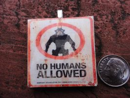 No Humans Pendant by Stargatesg11