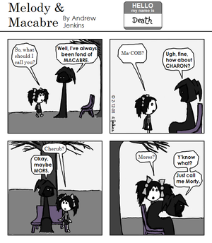 Melody and Macabre: Comic 6