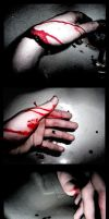 Holding Blood by KMoongangSR