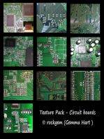 Texture Pack - Circuit Boards by rockgem