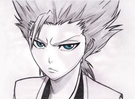BLEACH - Hitsugaya Toshiro by AidenKyoto