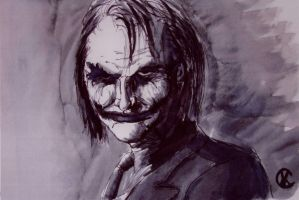 The Dark Knight Joker by mentat0209