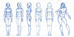 Female figure rotation by robthesentinel
