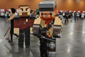 Minecraft Yogscast Cosplay 13 by Auzrill