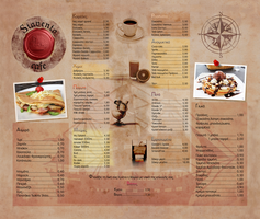 menu for a local cafe by dimitrisax