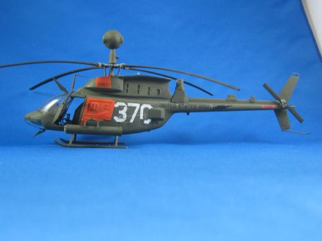 1/48 Scale OH-58D Kiowa by Coffeebean2