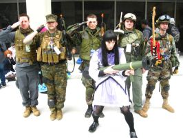 MC 2013 - Homura Akemi and her Band of Soldiers by vincent-h-nguyen