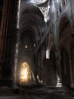 Abandoned Cathedral by gwhite206